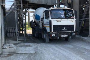 загрузка бетона в Казани